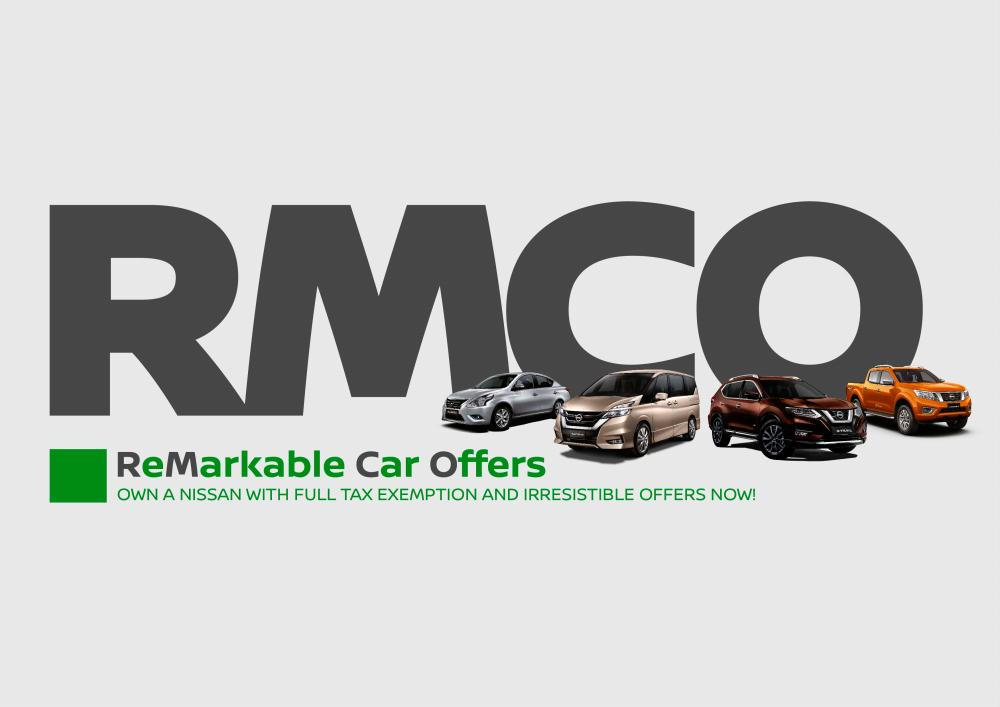 Tawaran menarik 'RMCO' Nissan Malaysia