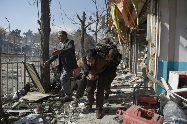 By some estimates, Afghanistan has overtaken Syria as the world's deadliest conflict zone this year. — AFP