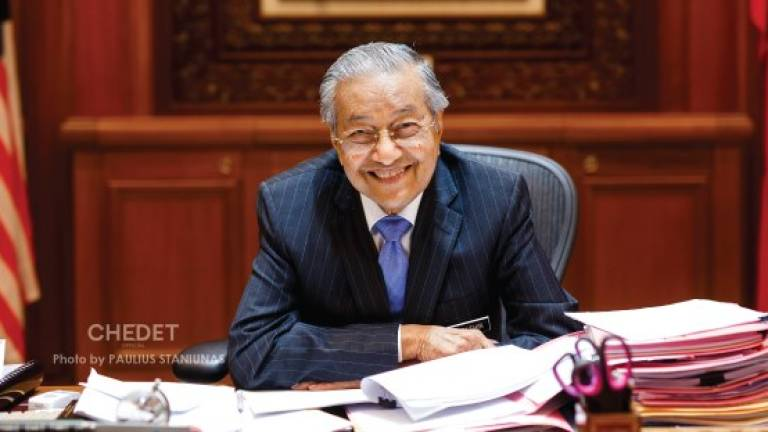 Mahathir shares birthday wish with Malaysians
