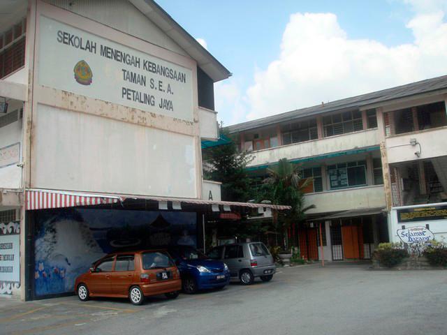 Pix from Facebook courtesy of SMK Taman SEA