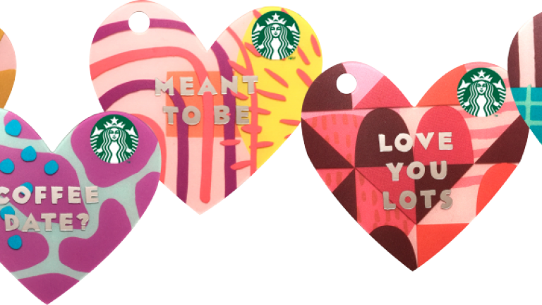 Get 'hot and cold' with your special someone at Starbucks