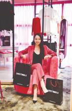 Kuan founded her own fashion label Christinna.K in February this year. — Pix courtesy of Christinna Kuan