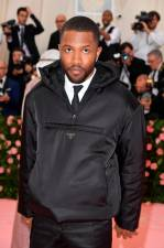 US singer-songwriter Frank Ocean at the 2019 Met Gala at the Metropolitan Museum of Art on May 6, 2019, in New York © ANGELA WEISS / AFP