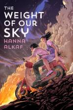 The cover of The Weight of Our Sky - from hannaalkaf.com