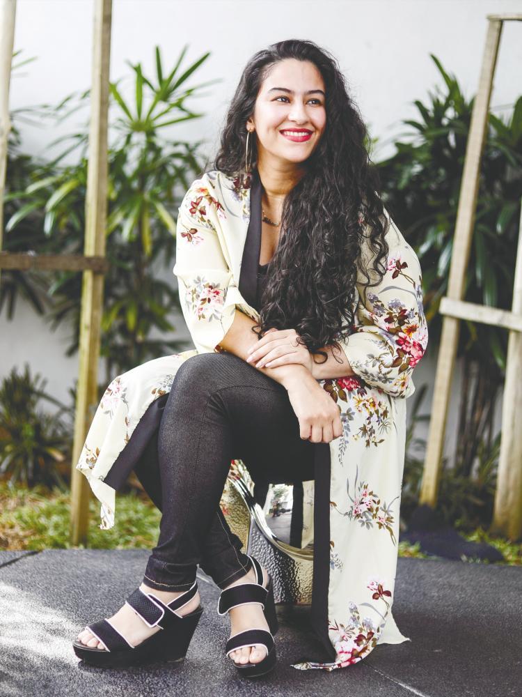 Ibtisem finds stories by going by her gut instinct. – HAFIZ SOHAIMI/THESUN