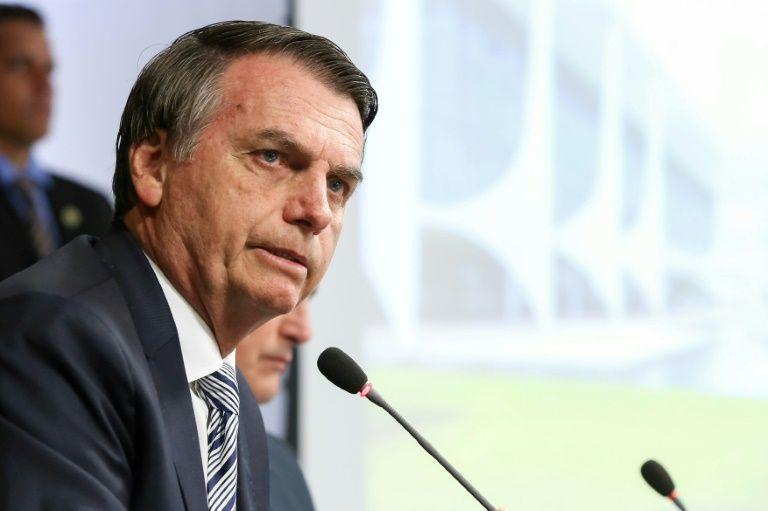 Brazil's new President Jair Bolsonaro held his first cabinet meeting Thursday. — AFP