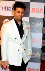 Indian Bollywood producer-director and actor Karan Johar © AFP PHOTO