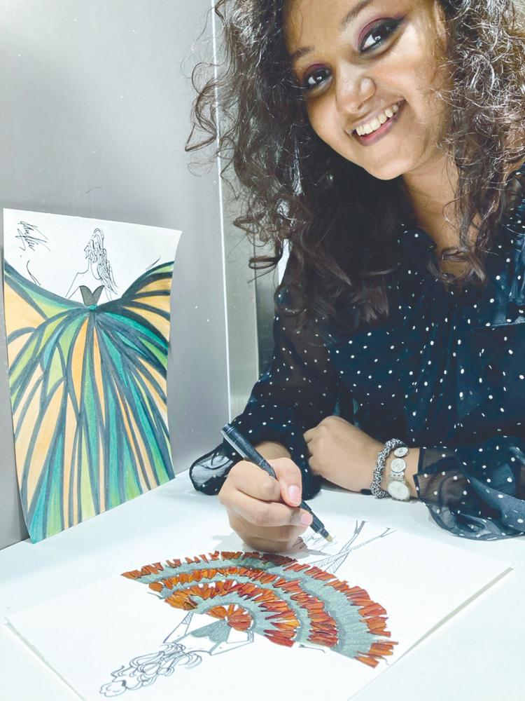 Karen is looking into creating a sustainable fashion accessories brand. – PICTURE COURTESY OF KAREN KANISHA