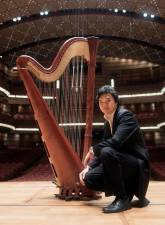 MPO's Malaysian harpist Tan Keng Hong will perform Gabriel Pierne's Conzertstuck in G flat during the French Portraits concert series.