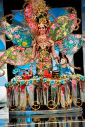 Shweta's costume was breathtakingly beautiful and colourful, and will long be remembered.