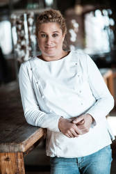 Slovenian chef Ana Ros was honored with World's Best Female Chef Award by the World's 50 Best Restaurants jury in 2017. © Hisa Franko