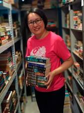 Ang believes that physical books are making a comeback. – COURTESY OF RACHEL ANG