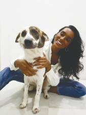 Vanizha is the official ambassador of animal welfare initiative Pets Club @ PU. – Courtesy of Vanizha Vasanthanathan