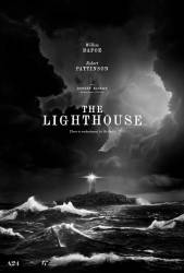 Robert Pattinson stars opposite Willem Dafoe in 'The Lighthouse,' Robert Eggers' black-and-white tale of two lighthouse keepers on a remote island. © Courtesy of A24
