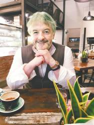 Author John Connolly was in Kuala Lumpur recently for a series of interviews on his latest book, A Book of Bones – S. INDRA SATHIABALAN
