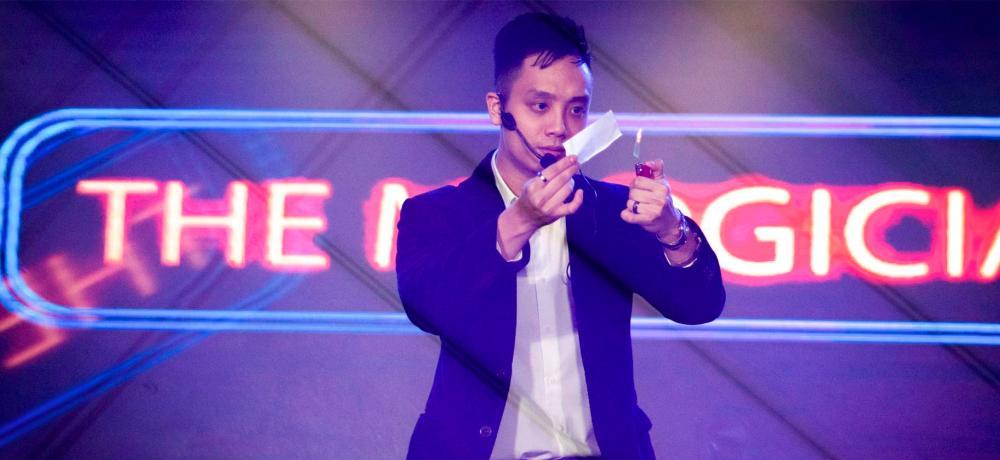 Magician Acker Kwan. – ACKER KWAN