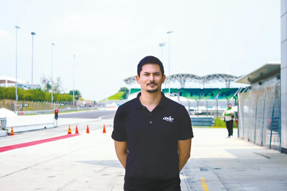 Alex Yoong is one of Malaysia's most recognisable sportsmen, especially among motorsports enthusiasts. – Courtesy of Axle Motorsport