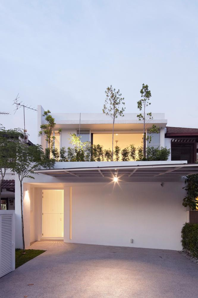 From the front, the Ittka House looks simple and unassuming. – PIX COURTESY OF FABIAN TAN