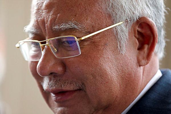 Filepix shows former Prime Minister Datuk Seri Najib Abdul Razak leaves Kuala Lumpur High Court on July 15, 2019. — Reuters