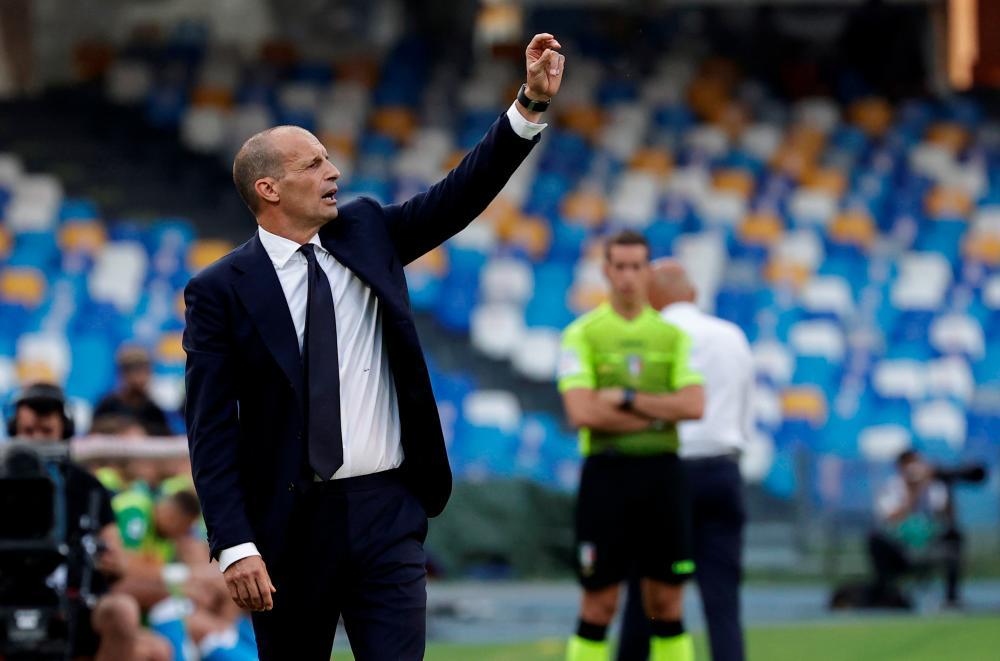 Allegri's Juve rebuild off to rocky start following Ronaldo exit