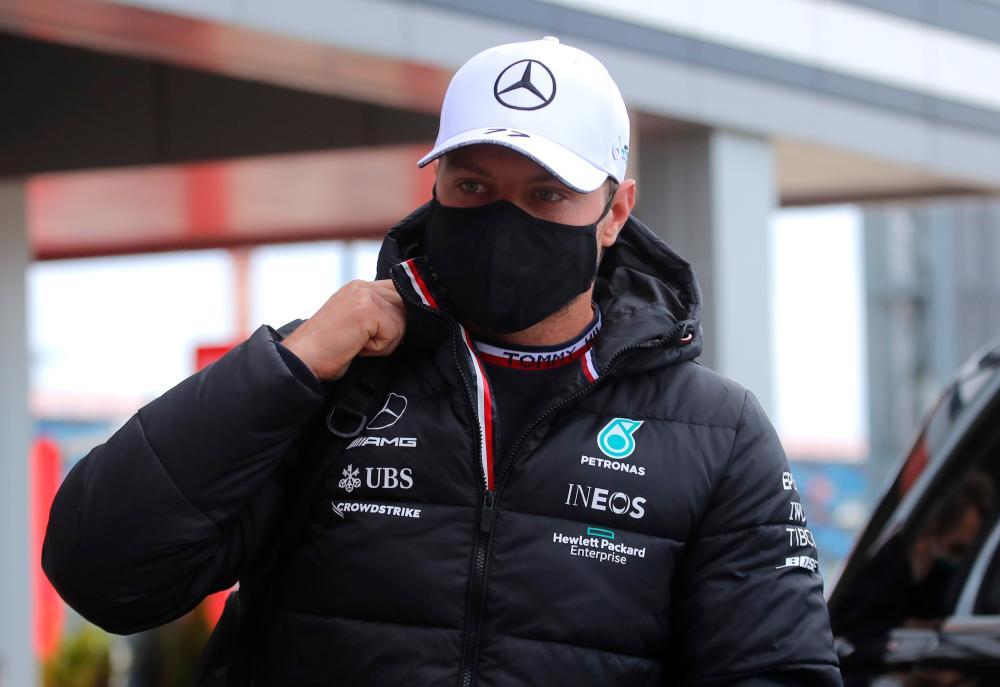 Bottas to start 16th in Sochi after engine change