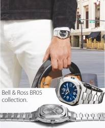 Bell & Ross BR05 collection.
