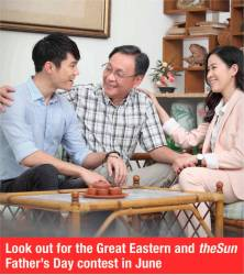 Look out for the Great Eastern and theSun Father's Day contest in June.