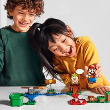 Nintendo has been expanding its footprint through mobile games, Universal theme park attractions, and now Lego. © Lego Group / Nintendo