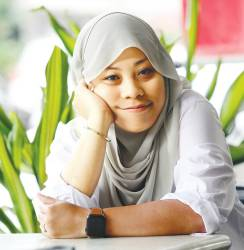 Nadiah wants to push the envelope with the social topics featured in her film Motif . – MASRY CHEANI/THESUN & WAYANGWORKS