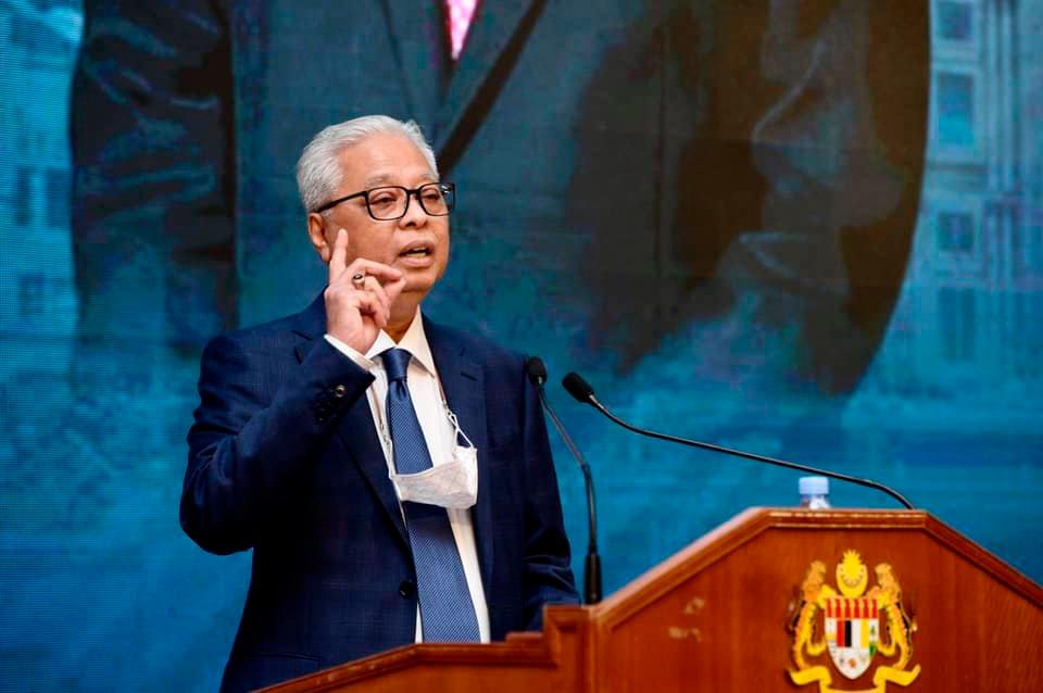 Pix taken from Ismail Sabri Yaakob official page