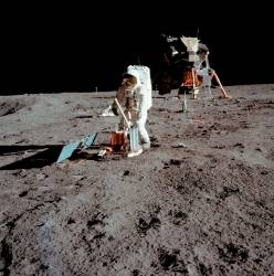 The Apollo 11 mission to the Moon and back 50 years ago went down in history as mankind's giant leap, changing the way we saw our place in the universe. © NASA / AFP