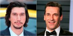 Adam Driver and Jon Hamm star in The Report. © JEAN-BAPTISTE LACROIX / AFP