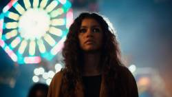 Zendaya in Euphoria-HBO