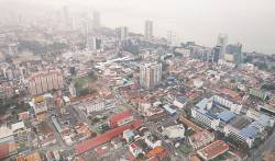 Penang recorded the steepest decline in asking prices quarter on quarter. – REUTERSPIX