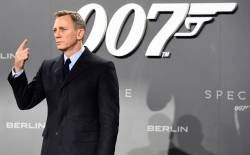 The next James Bond film starring Daniel Craig as 007 will be called No Time To Die and released in April 2020. © AFP PHOTO / TOBIAS SCHWARZ