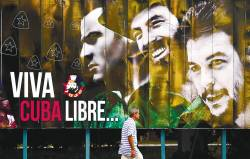 The world rejects the US sanctions against Cuba. – AFPpix