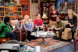 The cast of Big Bang Theory -Warner Tv