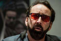 Nicolas Cage may play himself in 'The Unbearable Weight of Massive Talent' by Tom Gormican. © Iakovos Hatzistavrou / AFP