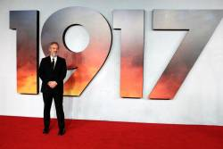 "Director Sam Mendes poses at the world premiere of the film ""1917"" in London, Britain, December 4, 2019. REUTERS/Lisi Niesner"