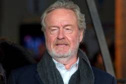 British filmmaker Ridley Scott's new project is the adaptation of a novel by Eric Jager set in 14th-century France. © JUSTIN TALLIS / AFP