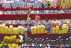 People shop for shoes at a mall in Johor Baru. – REUTERSPIX