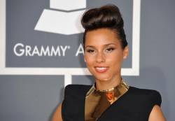Singer Alicia Keys.- AFP Photo/ Joe Klamar.