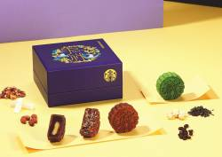 Starbucks mooncakes.