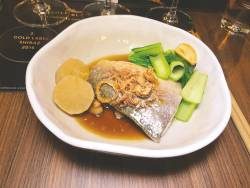 Steamed senangin with smoked fish sauce. – PICTURES BY TAN BEE HONG