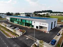 The new plant in Kulim.