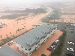 A view of the situation in Cyberjaya on May 22, 2019.