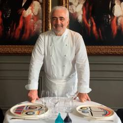 Chef Guy Savoy is one of 100 finalists for the Best Chef Award. © Carine Polito