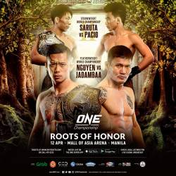 Additional bouts announced for ONE: ROOTS OF HONOR in Manila