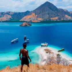 Labuan Bajo in Indonesia. – PICTURES COURTESY OF KOVIN SIVANASVARAN.