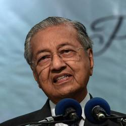 Prime Minister Tun Dr Mahathir Mohamad officiates the 22nd Annual General Meeting of the National Association of Smallholders Malaysia. - Bernama